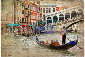 Beautiful Venice - Artwork In Painting Style by Maugli-l
