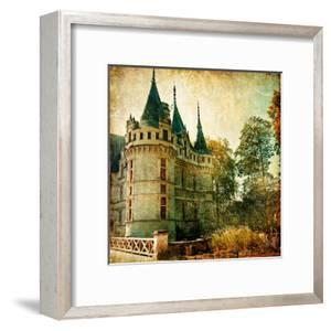 Castles Of France - Vintage Series by Maugli-l