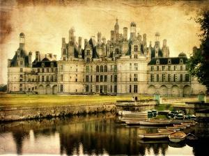 Chambord Castle - Artistic Retro Styled Picture by Maugli-l
