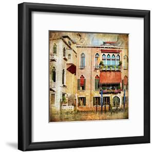 Colors Of Venice - Artwork In Painting Style Series by Maugli-l