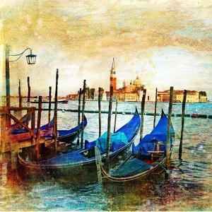 Mystery Of Venice - Artwork In Painting Style by Maugli-l