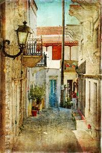 Old Greek Streets -Artistic Picture by Maugli-l