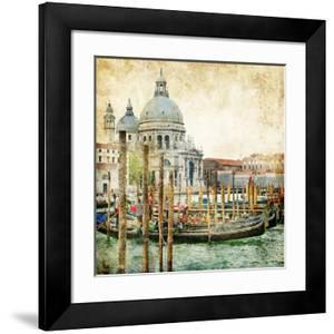 Pictorial Venice - Artwork In Painting Style by Maugli-l