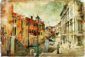 Romantic Venice - Artwork In Painting Style by Maugli-l