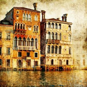Traditional Venice - Artwork In Painting Style by Maugli-l