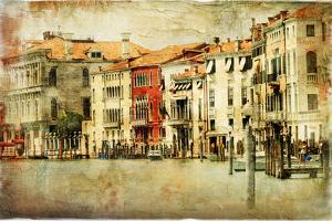 Venice, Artwork In Painting Style by Maugli-l