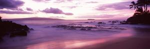 Maui Coast at Sunset, Makena, Maui, Hawaii, USA