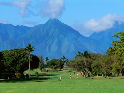 Maui Country Club, Spreckelsville, Maui, Hawaii, USA--Photographic Print