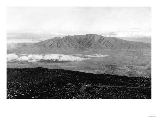 Maui, Hawaii - View from the Top of Haleakala Photograph-Lantern Press-Art Print