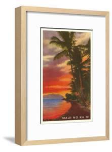 Maui No Ka Oi, Sunset on Lagoon