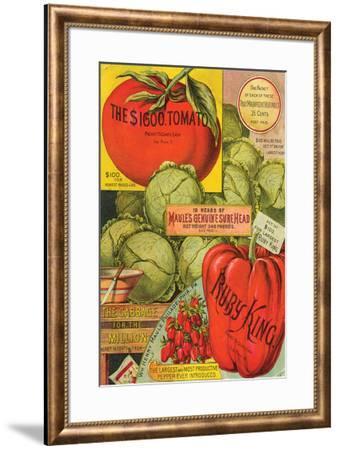 Maule Seed Book Philadelphia--Framed Art Print