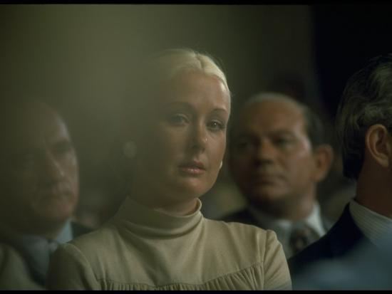 Maureen Dean Listening To Husband John S Testimony During Watergate Hearings Premium Photographic Print By Gjon Mili Art