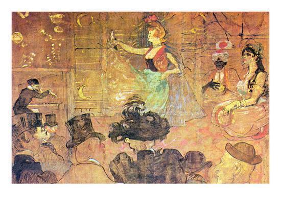 Mauri Dance-Henri de Toulouse-Lautrec-Art Print
