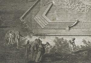"""Recueil des """"Plans, Profils et Elévations du Château de Versailles..."""" : planche 35 : vue by Maurice Baquoy"""