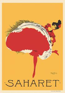Saharet - Dance Performance Advertisement, c.1902 by Maurice Biais