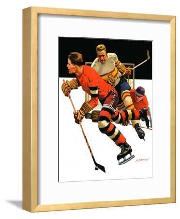 """""""Ice Hockey Match,""""January 18, 1936"""