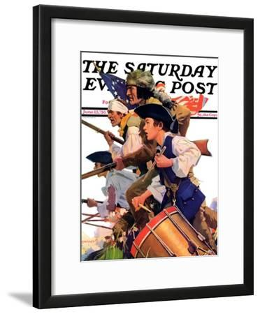 """Minutemen,"" Saturday Evening Post Cover, June 13, 1936"