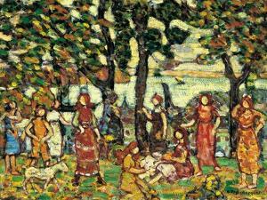 Autumn, Ca. 1918-1923 by Maurice Brazil Prendergast