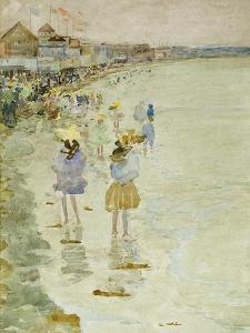 Crescent Beach, 1896 by Maurice Brazil Prendergast