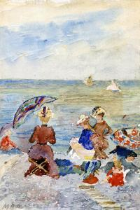 Figures on the Beach by Maurice Brazil Prendergast