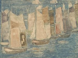 Fishing Boats, C.1900-02 by Maurice Brazil Prendergast