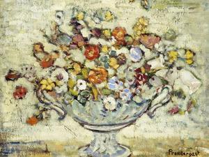 Floral Still Life by Maurice Brazil Prendergast