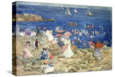 New England Beach Scene, C.1896-97