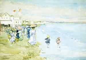 Revere Beach, Boston by Maurice Brazil Prendergast