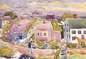 Rockport, Mass, 1912 by Maurice Brazil Prendergast