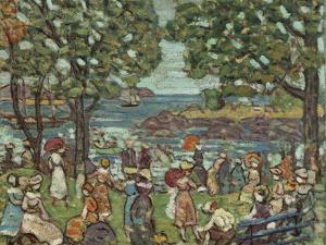 Salem Cove, 1916 by Maurice Brazil Prendergast