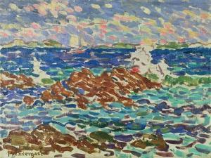 Seascape by Maurice Brazil Prendergast