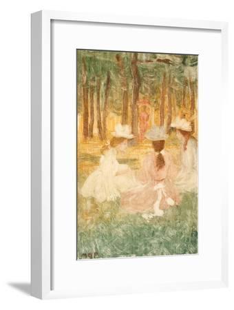The Picnic, C.1895-97