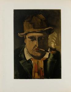 1922- Autoportrait by Maurice De Vlaminck