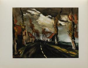 1953 - La Route De Mortagne by Maurice De Vlaminck