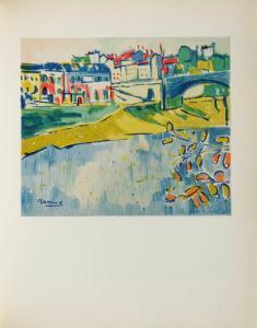 Chatou a Larbre Rouge, 1906 by Maurice De Vlaminck