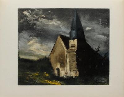 L'Eglise de Saint Lubin, 1934