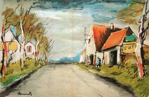 La Route by Maurice De Vlaminck