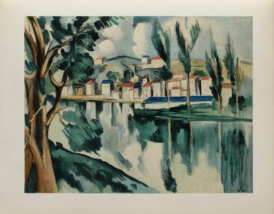 La Seine a Chatou, 1908