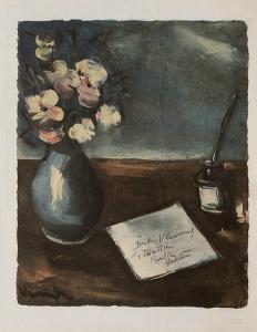 Le Courrier by Maurice De Vlaminck