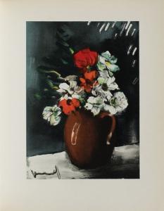 Les Anemones, 1955 by Maurice De Vlaminck