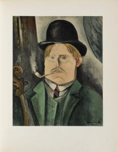 Portrait de Lartiste, 1910 by Maurice De Vlaminck