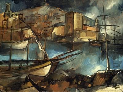 Vlaminck: Marseilles, 1913