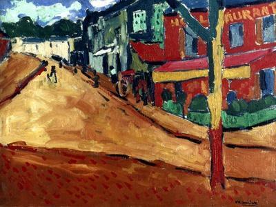 Vlaminck: Street, 1906