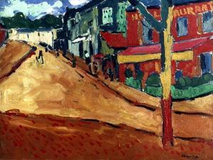 Vlaminck: Street, 1906 by Maurice de Vlaminick