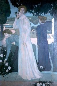 Portrait of Yvonne Lerolle, 1897 by Maurice Denis