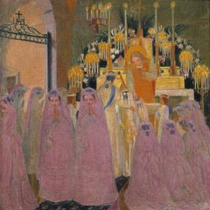 The Communicants, 1907 by Maurice Denis