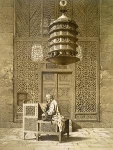 An Imam Reading the Koran in the Mosque of the Sultan, Morocco, 1817 by Maurice Keating