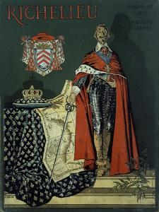 Book Cover 'Richelieu' by Maurice Leloir