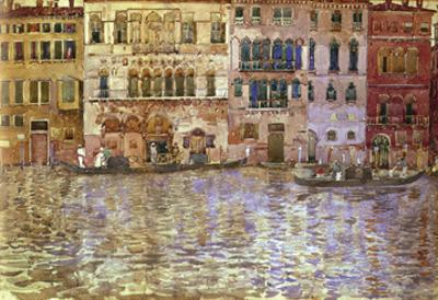 Venetian Palaces on the Grand Canal, 1899