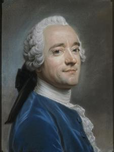 Autoportrait au jabot de dentelle by Maurice Quentin de La Tour
